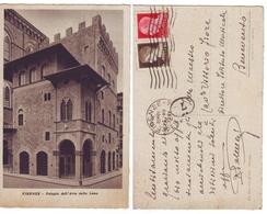 Firenze Palagio Dell'arte Della Lana - Viaggiata 1937 Anni '30 Dino Giorgi Ed. (C) - Firenze
