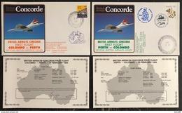 Premier Vol - Concorde - British Airways - Colombo - Perth - 1985 - Concorde