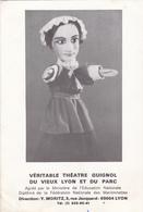 Cpa -spect-theatre-guignol-pas Sur Delc.-marionnette - Théâtre
