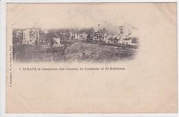 92 SCEAUX  Panorama Des Côteaux De Fontenay Et De Robinson ,ligne De Chemin De Fer - Sceaux