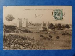 Cendrecourt Le Pont Suspendu Longueur 60m Haute Saône Franche Comté - Altri Comuni