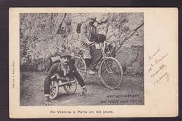 CPA Cirque Globe Trotter Circus Cirk Non Circulé Vienne Paris Vélo Cycle - Circus