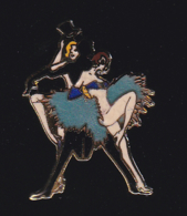 62275-Pin's-Pin'up.Music Hall.danse.femme.signé Piworld 1000 - Pin-ups