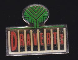 62283-Pin's-Dravert. Saint-Laurent-d'Andenay - Villes