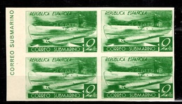 Espagne YT N° 625C (non-émis) Bloc De Quatre Timbres Non Dentelés Neufs ** MNH. TB. A Saisir! - 1931-50 Unused Stamps