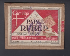 Especial Movil  Papel Ruber Garriga Barcelona - 1889-1931 Königreich: Alphonse XIII.