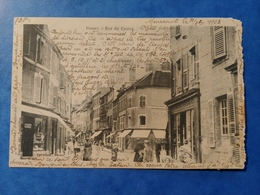Vesoul Rue Du Centre Reuchet éditeur Fougerolles Haute Saône Franche Comté - Vesoul