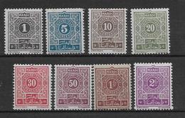Maroc Taxe N°27/34 - Neuf * Avec Charnière - TB - Segnatasse