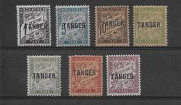 Maroc Taxe N°35/41 - Neuf * Avec Charnière - TB - Postage Due