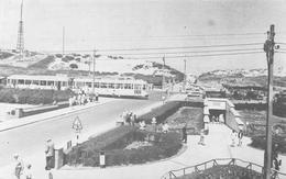 Bredene - Panorama Des Dunes En 1964 Avec Tram - Bredene