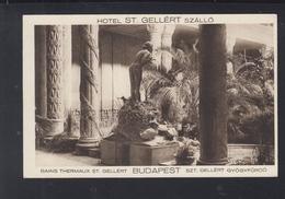 Hungary PPC Budapest Thermal Baths St. Gellert - Hungary