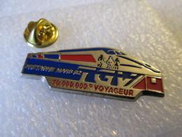 PIN'S   TGV  BRETAGNE  10 000 000eme  VOYAGEUR - TGV