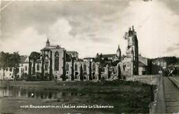 54* BACCARAT  Ruines WW2     (cpsm 9x14)  MA102,0715 - Guerra 1939-45