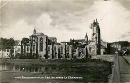 54* BACCARAT  Ruines WW2     (cpsm 9x14)  MA102,0715 - War 1939-45