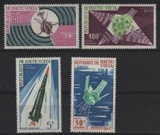 ASTRO 8 - HAUTE-VOLTA PA 36/39 Neufs** Thème Cosmos - Upper Volta (1958-1984)