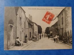 Vellexon Grande Rue Haute Saône Franche Comté - Altri Comuni
