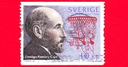 SVEZIA - Usato - 2003 - Santiago Ramon - Premio Nobel Per La Medicina - Congiunta Con La Spagna - 10 - Gebraucht
