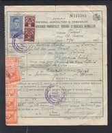 Romania Document Suceava 1941 - 1918-1948 Ferdinand, Charles II & Michael