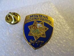 PIN'S   MONTANA   HIGHWAY  PATROL   EGF - Polizia