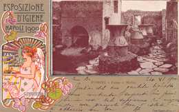 ESPOSIZIONE D'IGIENE NAPOLI 1900 - POSTED JUNE 1900 ~ A 120 YEAR OLD POSTCARD #21421 - Napoli (Naples)