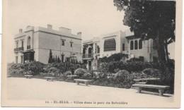 EL BIARD  VILLA DANS LE PARC DU BELVEDAIRE (EDIT  ALBERT) - Algerien