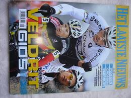 Sport Wielrennen Veldrijden  5x Veldritgids 2013/14 - 2014/15 - 2015/16 - 2016/17 - 2017/18 Uitgave  HLN - Vita Quotidiana