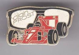 VP21 Pin's Ferrari Alain Prost Lunettes Arthus Signé AB Achat Immédiat - Ferrari