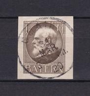 Bayern - 1920 - Michel Nr. 104 II B - Gest. - 20 Euro - Bavière