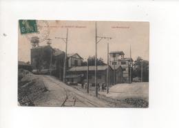 53 LE GENEST LES MOULINS A OR MINES DE LA LUCETTE En 1910 - Le Genest Saint Isle