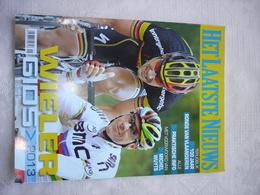 Sport Wielrennen  Mooi Lot Van 12 Wielergidsen 2013 / 2018 Uitgave HLN - Vita Quotidiana