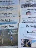 The New York Times & Le Monde : 24 N° De La Sélection Hebdomadaire Du NYT éditée Par Le Monde : 2004 (2) - 2007 (1) -2 - Revues & Journaux