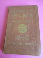 Plan De PARIS Ancien/Guide Pratique CONTY/Mellottée Editeur/Paris Par Arrondissements/Rues-Métro-Autobus/1945 PGC315 - Maps/Atlas