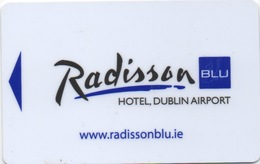 Carte Clé Hôtel : Radisson BLU Hotel Dublin Airport Irlande - Cartes D'hotel