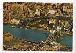 LONDON, Tower Bridge By Air, Unused Postcard [23851] - River Thames