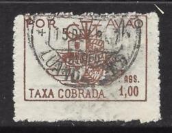 Colonie Portoghesi 1947 - ANGOLO - POR AVIAO - Taxa  Cobrada - Usato - Cat. ? € - Lotto N. 1627 - Angola