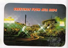 Greetings From AYIA NAPA, Cyprus, Used Postcard [23855] - Cyprus
