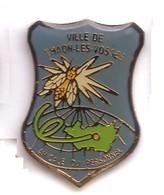 FF272 Pin's Ville Village Thaon Les Vosges Mouche Département Amicale Personnel Mouche Achat Immédiat - Villes