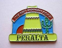 FF53 Pin's Ville Village Mexique Mexico Sombrero Cactus Peralta Achat Immédiat - Villes