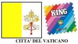 VATICANO 2008 SINGOLI - Contenitore Per Francobolli