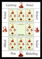 Turkmenistan 1994, Frères Nobel, 49** En Petite Feuille De 8, Cote 12 €, - Turkmenistan