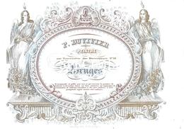 Porceleinkaart  - P. Duvivier Peintre -  Bruges - Brugge - 14 X 10 Cm - Brugge