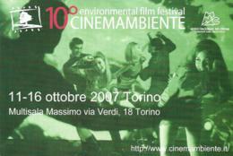 [MD4354] CPM - CINEMA - 10° CINEMAMBIENTE ENVIRONMENTAL FILM FESTIVAL - TORINO 2007 - PERFETTA - NV - Cinema