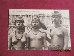 CPA - Jeunes Foulahs (Fortier) - Dahomey
