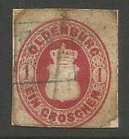 Oldenburg - 1862 Arms 1gr Used - Oldenburg