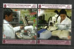 MEXIQUE. Laboratoires De Medecine.École Nationale Des Sciences Biologiques. Ciudad De México.  Neufs ** - Maladies