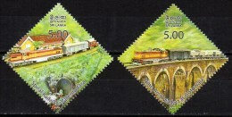 Sri Lanka 100 Jahre Demodara Railway 2014 **/MNH - Trains