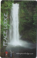 Carte Clé Hôtel : Peace Lodge & Waterfall Gardens : Costa Rica - Cartes D'hotel