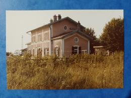 Gare De Vellexon Photo 1983 Haute Saône Franche Comté - Altri Comuni