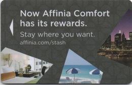 Carte Clé Hôtel : Affinia Hotels : New York USA - Cartes D'hotel