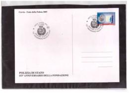 243   -  CERVIA  14.5.2005    /    153° ANN. POLIZIA DI STATO - Polizia – Gendarmeria